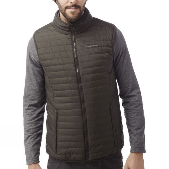 Craghoppers Mens NosiLife Desert 3-in-1 Jacket Pebble/Espresso