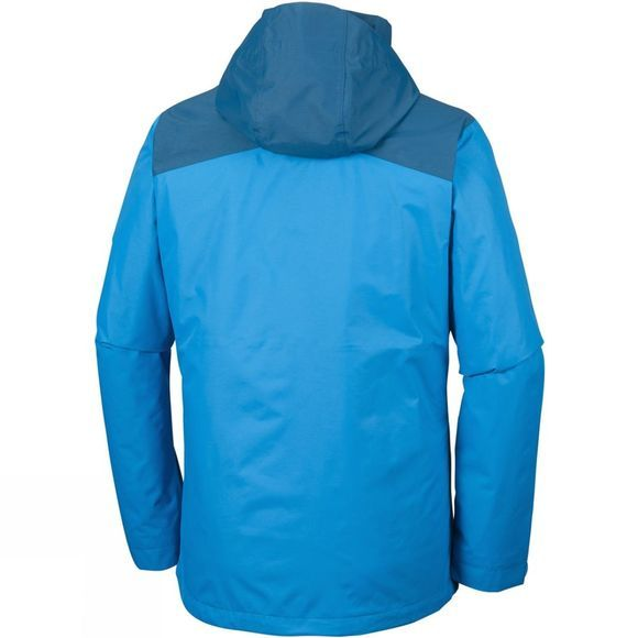 Columbia Mens Aravis Explorer Interchange Jacket Dark Compass / Phoenix Blue