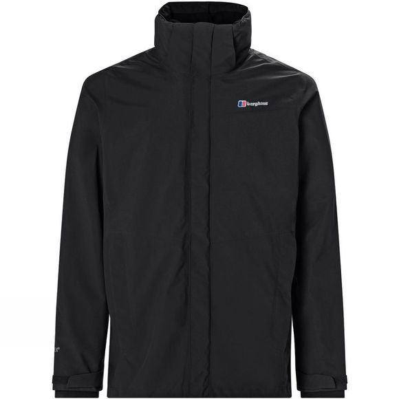 Berghaus Mens Hillwalker 3in1 Jacket Jet Black