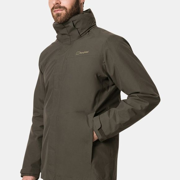 Berghaus Mens Hillwalker 3in1 Jacket Peat