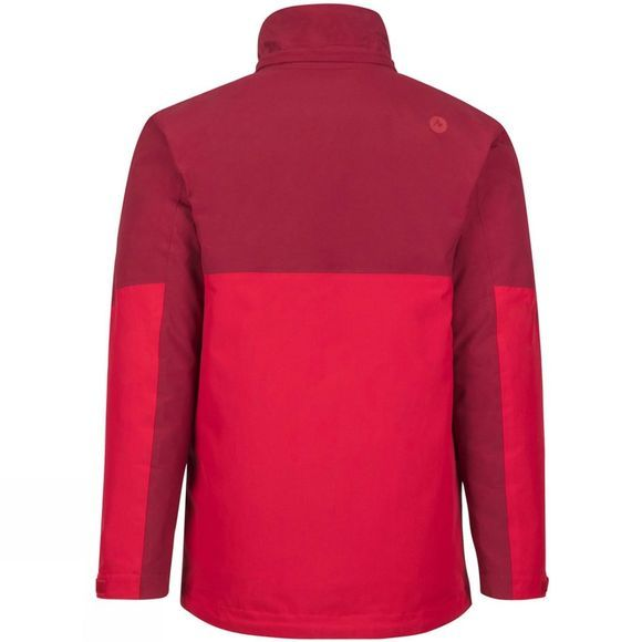 Marmot Mens Featherless Component Jacket Brick/Team Red