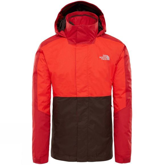 The North Face Mens Kabru Triclimate Rage Red