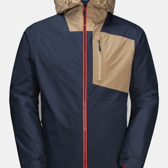 Jack Wolfskin 365 Twentyfseven 3-in-1 Jacket Night Blue Peak Red