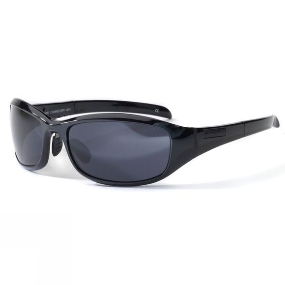 Bloc Chameleon Sunglasses Shiny Black/Smoke