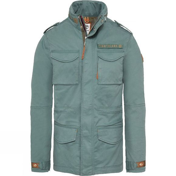 Timberland Mens Crocker Mountain M65 Jacket Duck Green