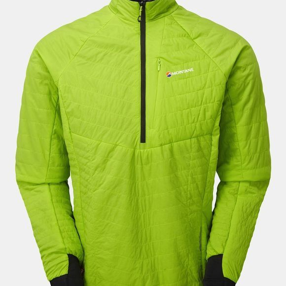 Montane Mens Fireball Verso Pull-On Laser Green/Black