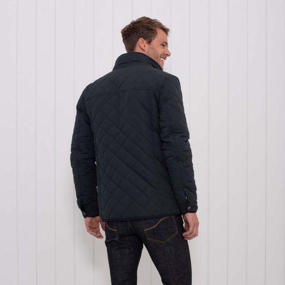 Brakeburn Mens Quilted Jacket Navy