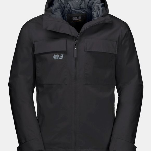Jack Wolfskin Winter Rain Jacket Black