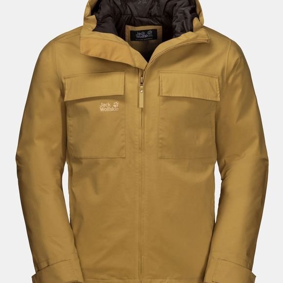 Jack Wolfskin Winter Rain Jacket Golden Amber