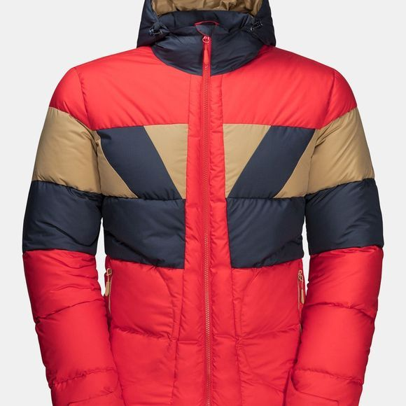 Jack Wolfskin 365 Getaway Down Jacket Night Blue Peak Red