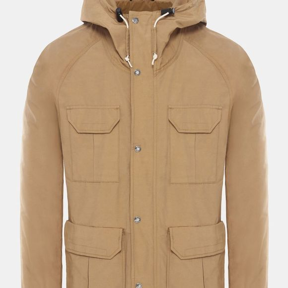 The North Face Mens Mountain Parka British Khaki