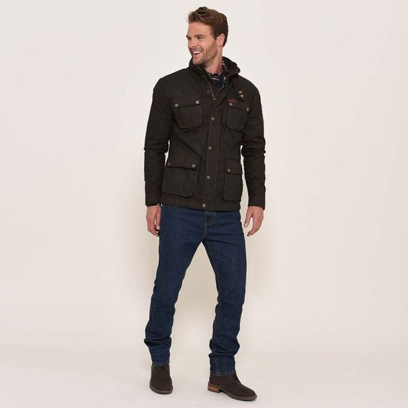 Brakeburn Waxed jacket Brown