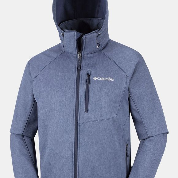 Columbia Mens Cascade Ridge II Softshell Jacket Collegiate Navy Heather