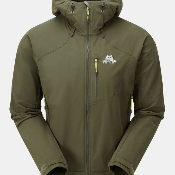 Mountain Equipment Mens Frontier Hooded Jacket Broadleaf
