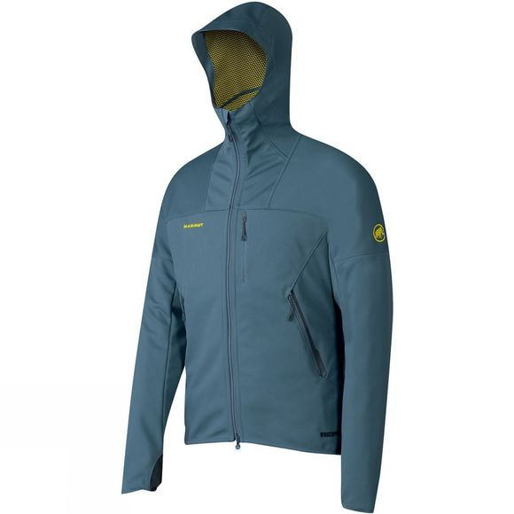Mammut Mens Ultimate Hoody Chill / Sunglow