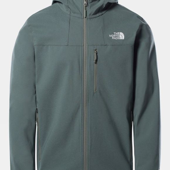The North Face Mens Nimble Hoodie Salsa Red