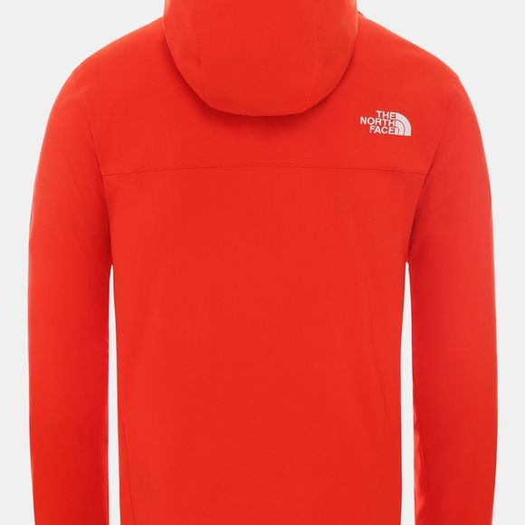 The North Face Mens Nimble Hoodie Fiery Red
