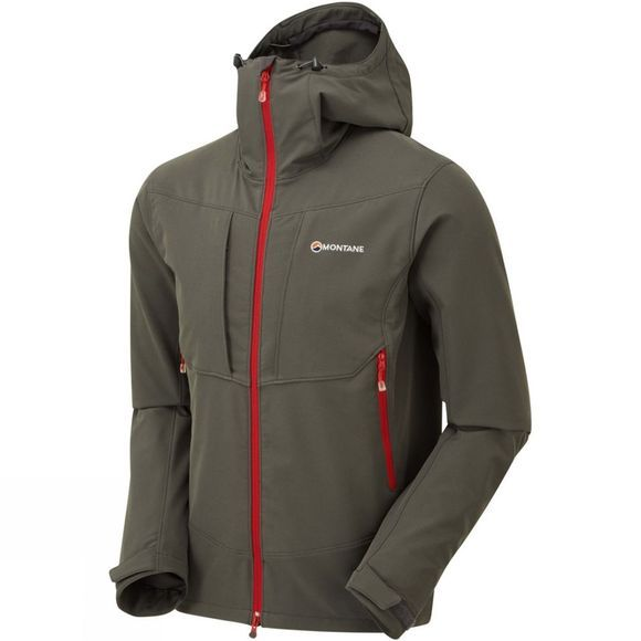 Montane Mens Dyno Stretch Jacket Shadow
