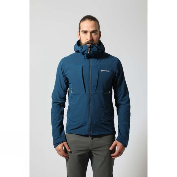 Montane Mens Dyno Stretch Jacket Narwhal Blue