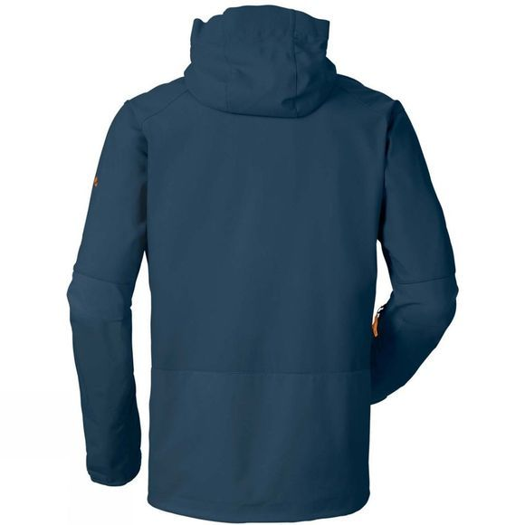 Vaude Mens Roccia Softshell Hoody Baltic Sea
