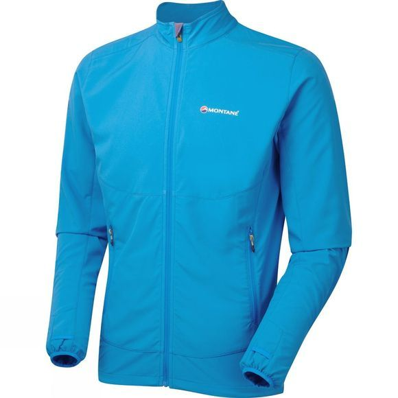 Montane Mens Dynamo Via Jacket Blue Spark