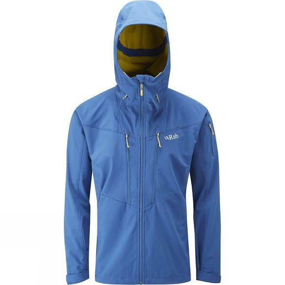 Rab Mens Upslope Jacket Ink/Mimosa