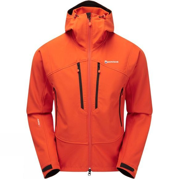 Montane Mens Sabretooth Jacket Firefly Orange