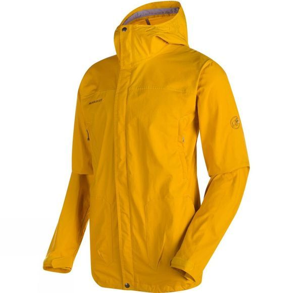 Mammut Mens Trovat Guide SO Hooded Jacket Yellowstone