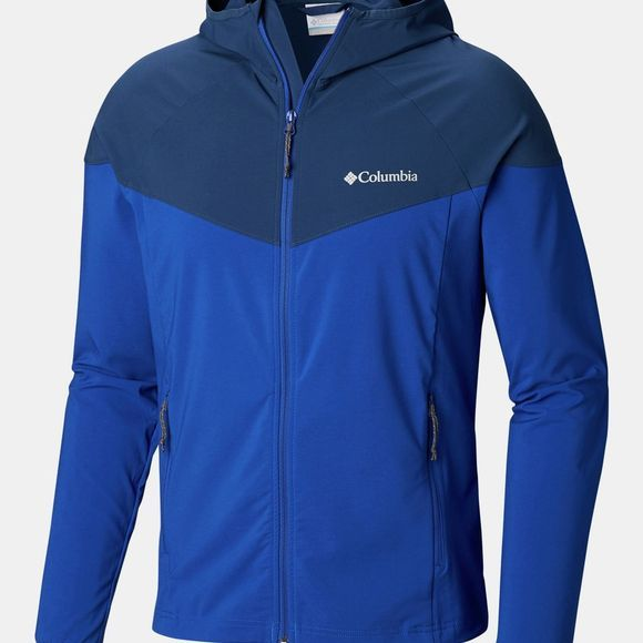 Columbia Mens Heather Canyon Jacket Azul/ Carbon