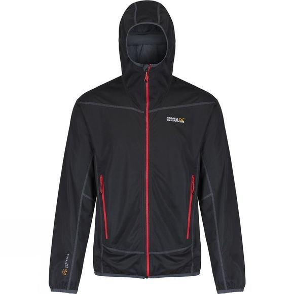 Regatta Mens Static II Jacket Black (Seal Grey)