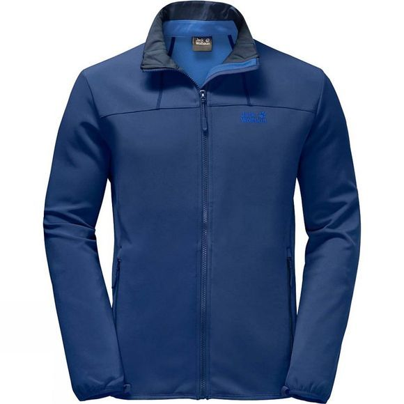 Jack Wolfskin Mens Essential Altis Jacket Royal Blue