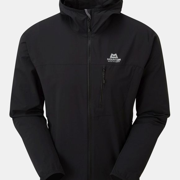 Mountain Equipment Mens Echo Hooded Jacket Black