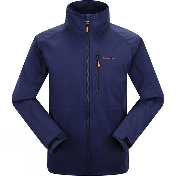 Skogstad Mens Myrlende Softshell Jacket Peacoat