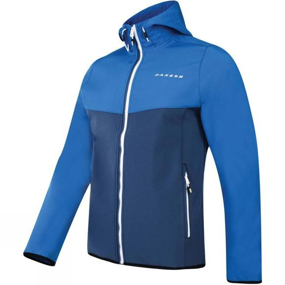 Dare 2 b Mens Devise Softshell Admiral Blue /Oxford Blue