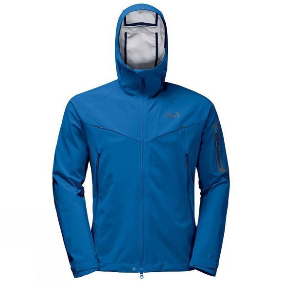 Jack Wolfskin Mens Gravity Flex Jacket Electric Blue