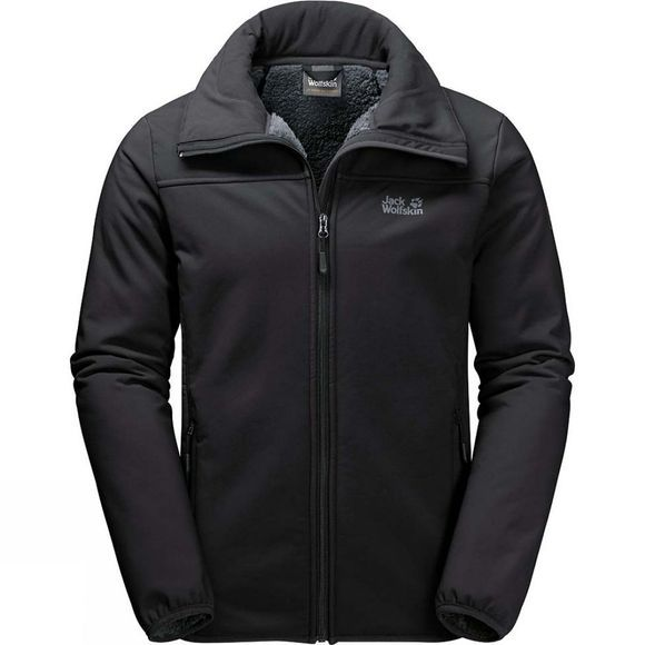 Jack Wolfskin Mens Rockwall Jacket Black