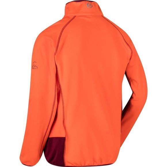 Regatta Mens Diego III Softshell Jacket Magma/Spiced Mulberry