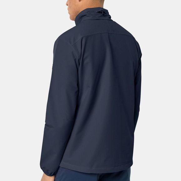 Jack Wolfskin Mens Crestview Jacket Night Blue