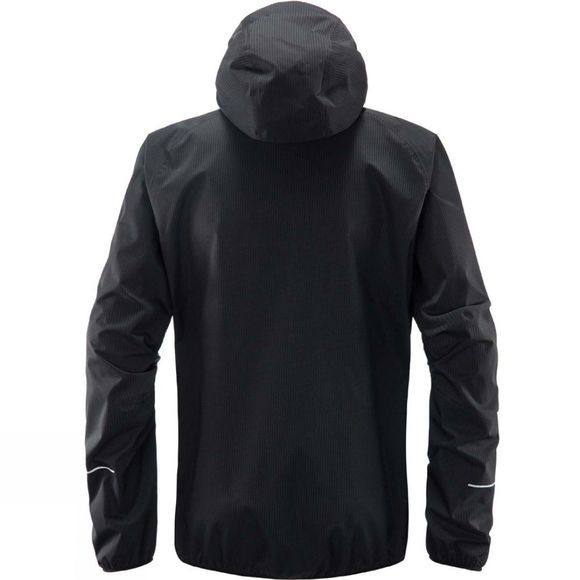 Haglofs Mens L.I.M Proof Multi Jacket True Black Solid