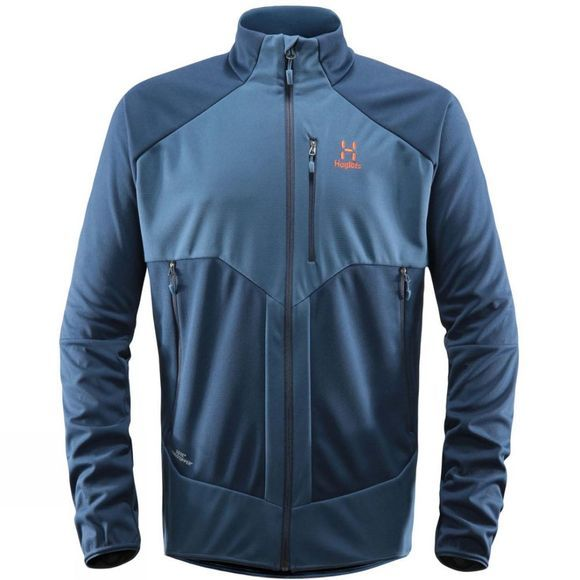 Haglofs Mens Multi WS Jacket Blue Ink/Tarn Blue