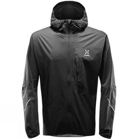 Haglofs Mens L.I.M Proof Jacket True Black