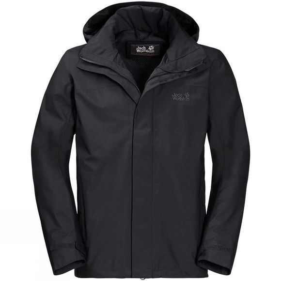Jack Wolfskin Mens Highland Jacket Black