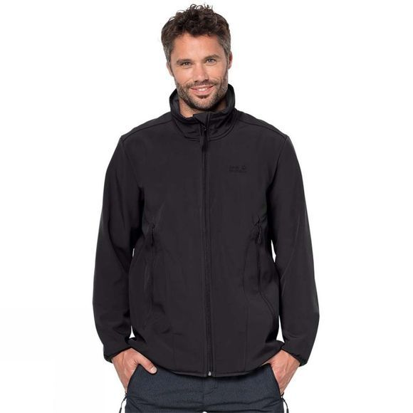 Jack Wolfskin Mens Northern Pass Jacket Black