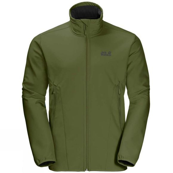 Jack Wolfskin Mens Northern Pass Jacket Cypress Green