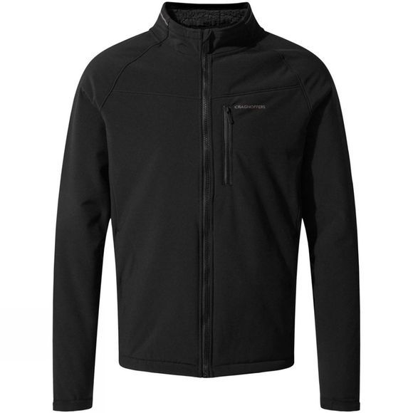 Craghoppers Mens Roag Softshell Jacket Black