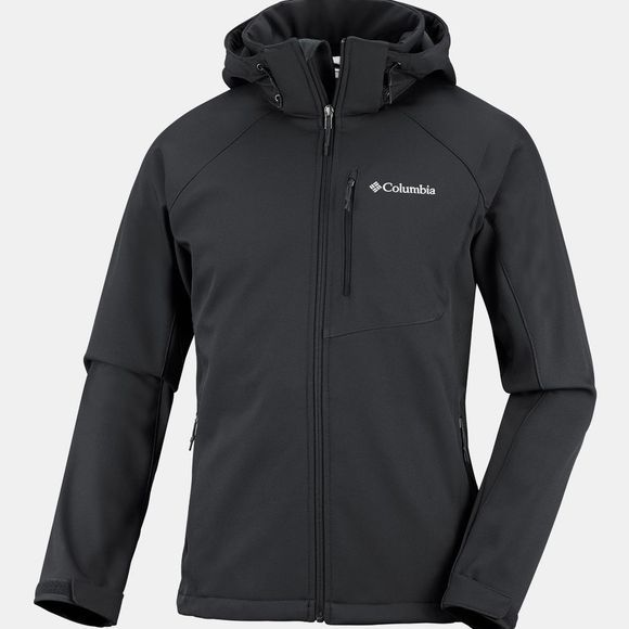 Columbia Mens Cascade Ridge II Softshell Top Black