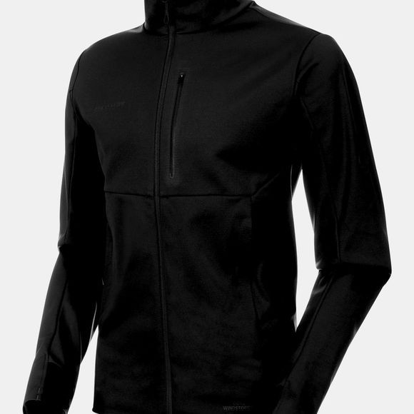 Mammut Mens Ultimate V SO Jacket Black/Black