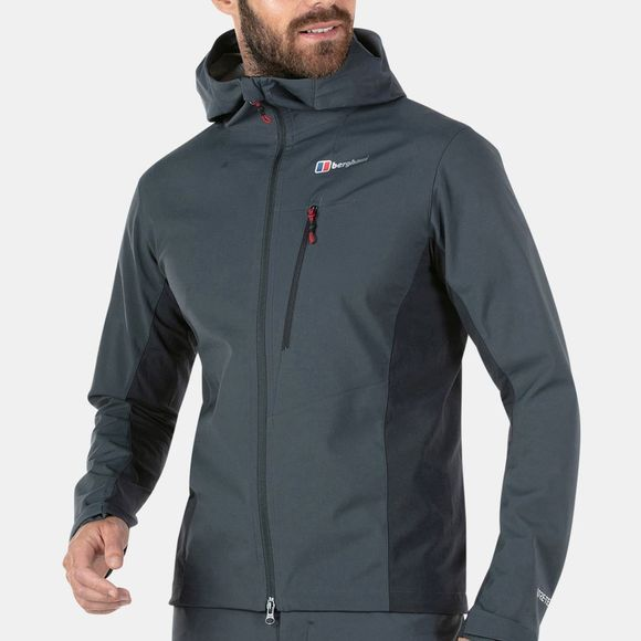 Berghaus Mens Taboche Softshell Jacket Carbon / Blue Graphite