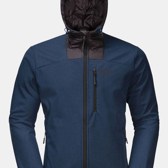 Jack Wolfskin Sky Point Softshell Hoody Dark Indigo