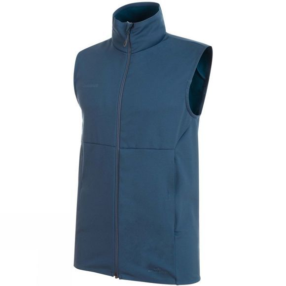 Mammut Mens Ultimate V SO Vest Jay/Jay Melange